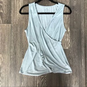 ❗️Sale❗️Athleta Wrap Front Tank Top